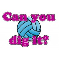 Logo of Dig it Volleyball