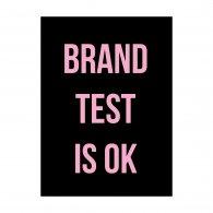 Logo of Brand Test is Ok
