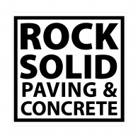 Logo of Rock Solid Paving & Concrete