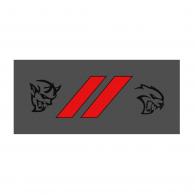 Logo of SRT Dodge Demon and Hellcat