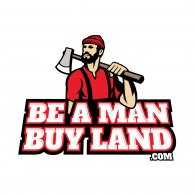 Logo of Be A Man Buy Land