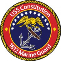 Logo of USS Constitution 1812 Marine Guard