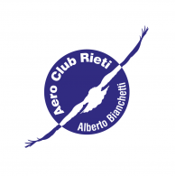 """Logo of Aeroclub di Rieti """"Alberto Bianchetti"""" 1 colore"""